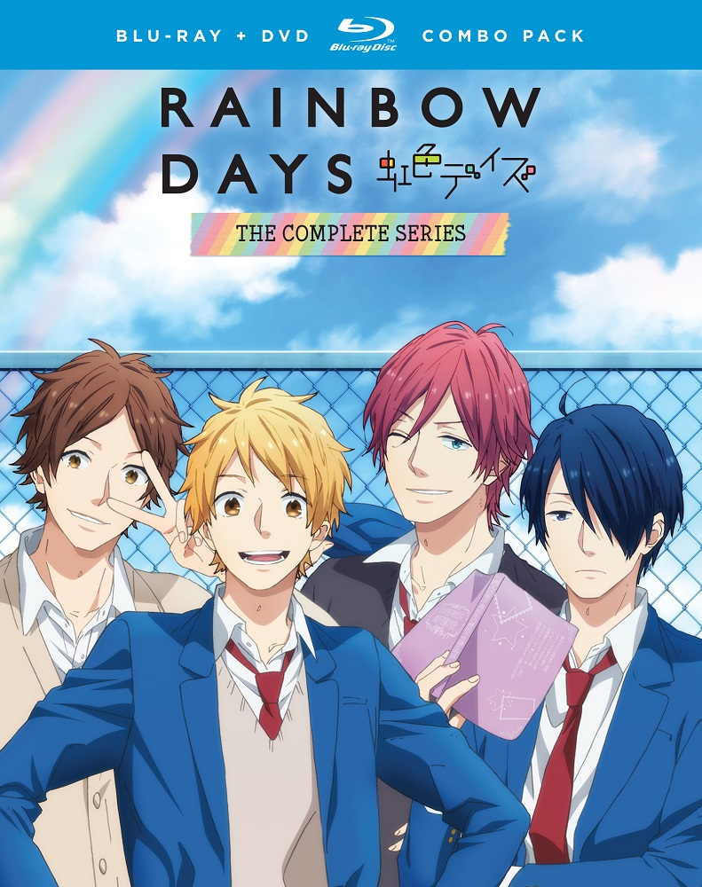 Rainbow Days Blu-ray/DVD 704400097560