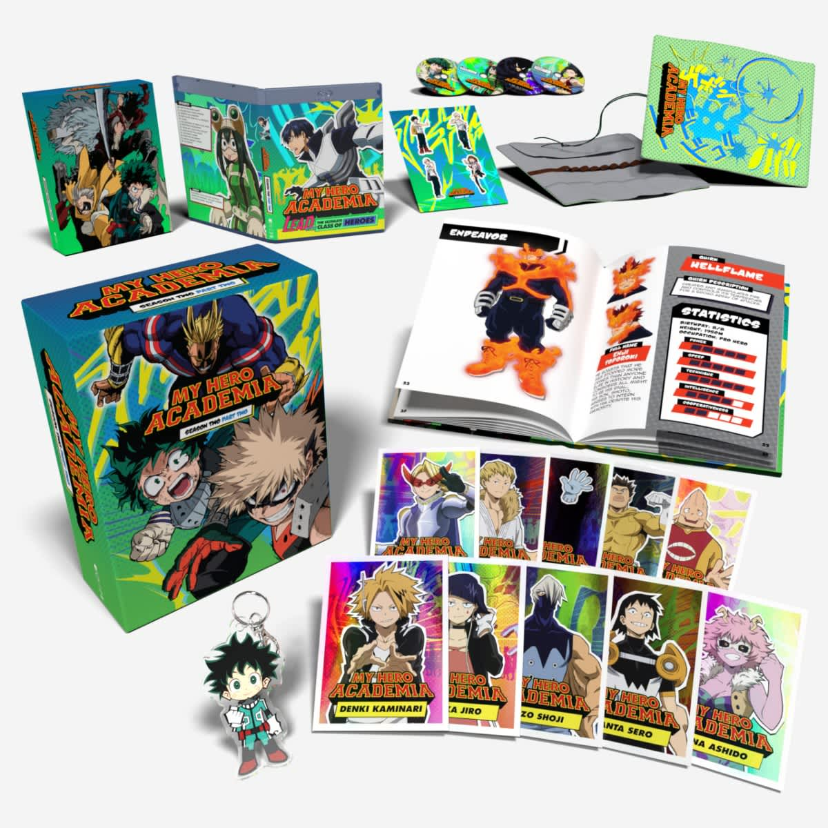 My Hero Academia Season 2 Part 2 Limited Edition Blu-Ray/DVD