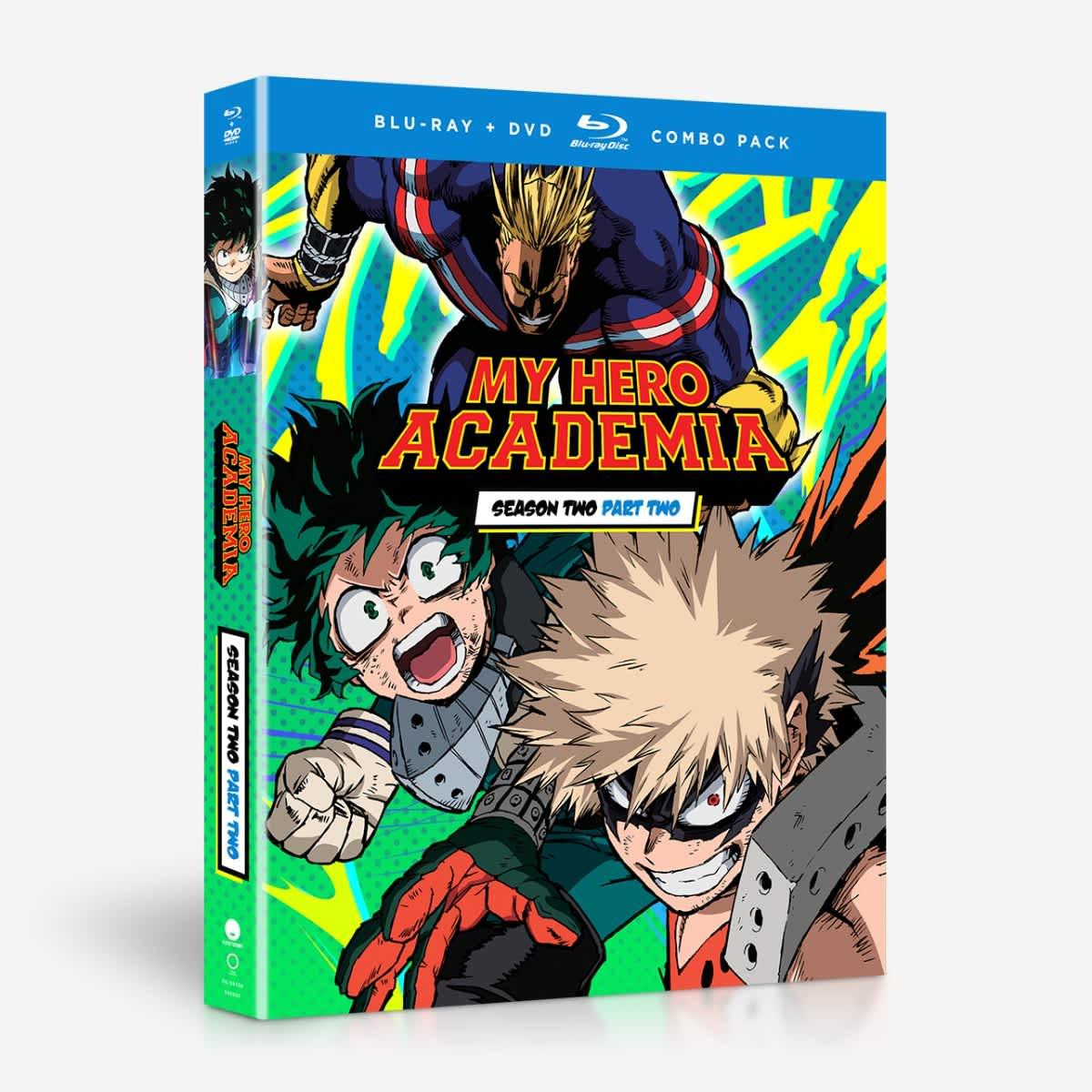 My Hero Academia Season 2 Part 2 Blu-ray/DVD 704400097669