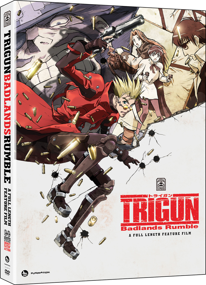 Trigun Badlands Rumble DVD 704400097799