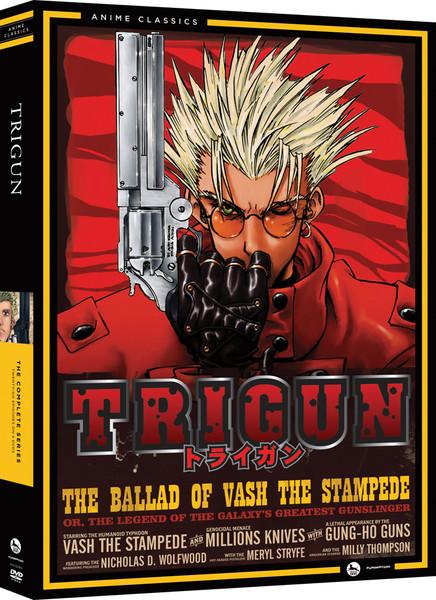 Trigun Complete Series DVD Anime Classics