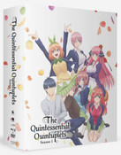 The Quintessential Quintuplets Season 1 Limited Edition Blu-ray/DVD