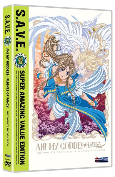Ah My Goddess Season 2 Complete DVD SAVE Edition