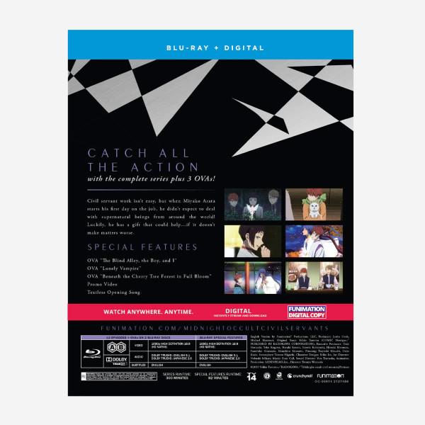 Midnight Occult Civil Servants Blu-ray