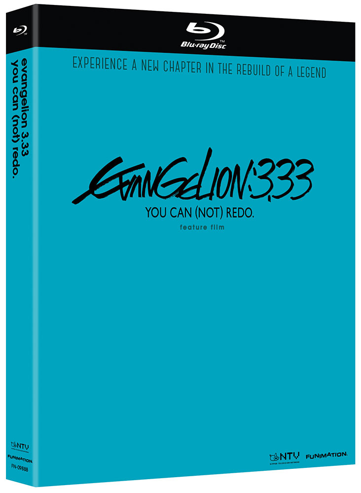 Neon Genesis Evangelion 3.33 You Can (Not) Redo Blu-ray 704400098888