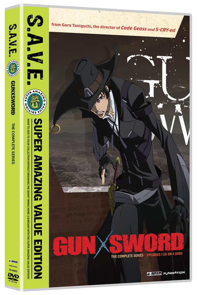 Gun X Sword Complete Series DVD SAVE Edition