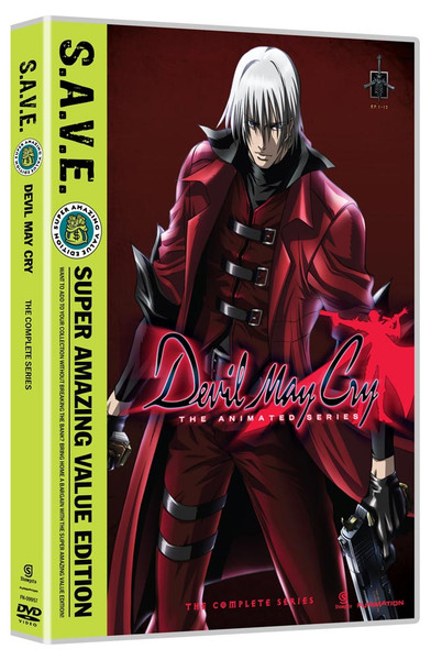 Devil May Cry Complete Series DVD SAVE Edition