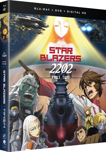 Star Blazers Space Battleship Yamato 2202 Part 2 BD/DVD