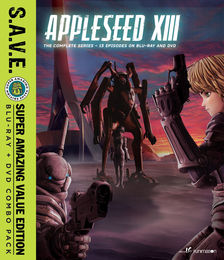 Appleseed XIII Blu-ray/DVD SAVE Edition 704400101922