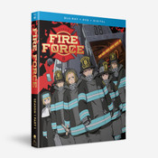 Fire Force Season 1 Part 1 Blu-ray/DVD
