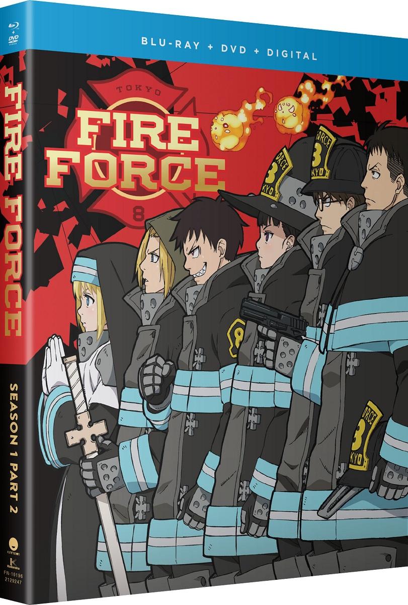 Fire Force Season 1 Part 2 Blu-ray/DVD