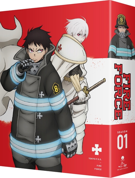 Fire Force Season 1 Part 2 Limited Edition Blu-ray/DVD
