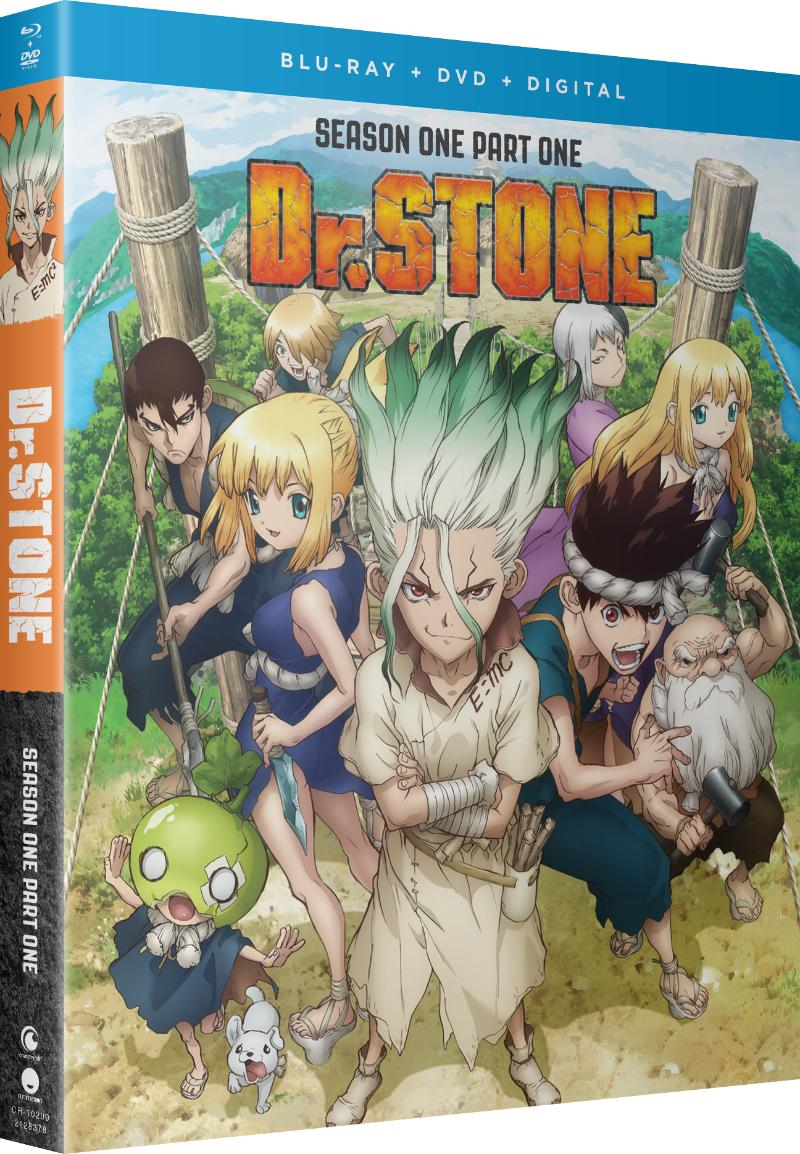 Dr. STONE Season 1 Part 1 Blu-ray/DVD