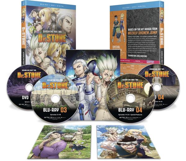 Dr STONE Season 1 Part 2 Blu-ray/DVD