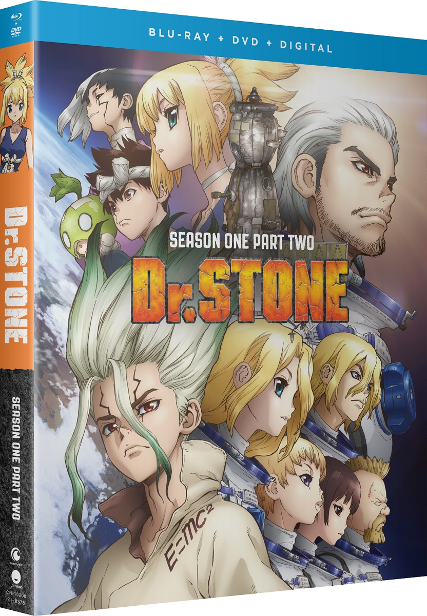 Dr. STONE Season 1 Part 2 Blu-ray