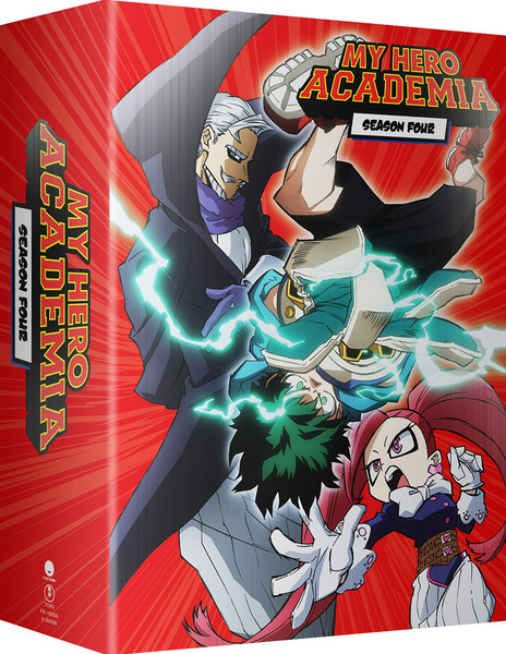 My Hero Academia Season 4 Part 2 Limited Edition Blu-ray/DVD