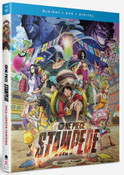 One Piece Film Stampede Blu-ray/DVD + GWP