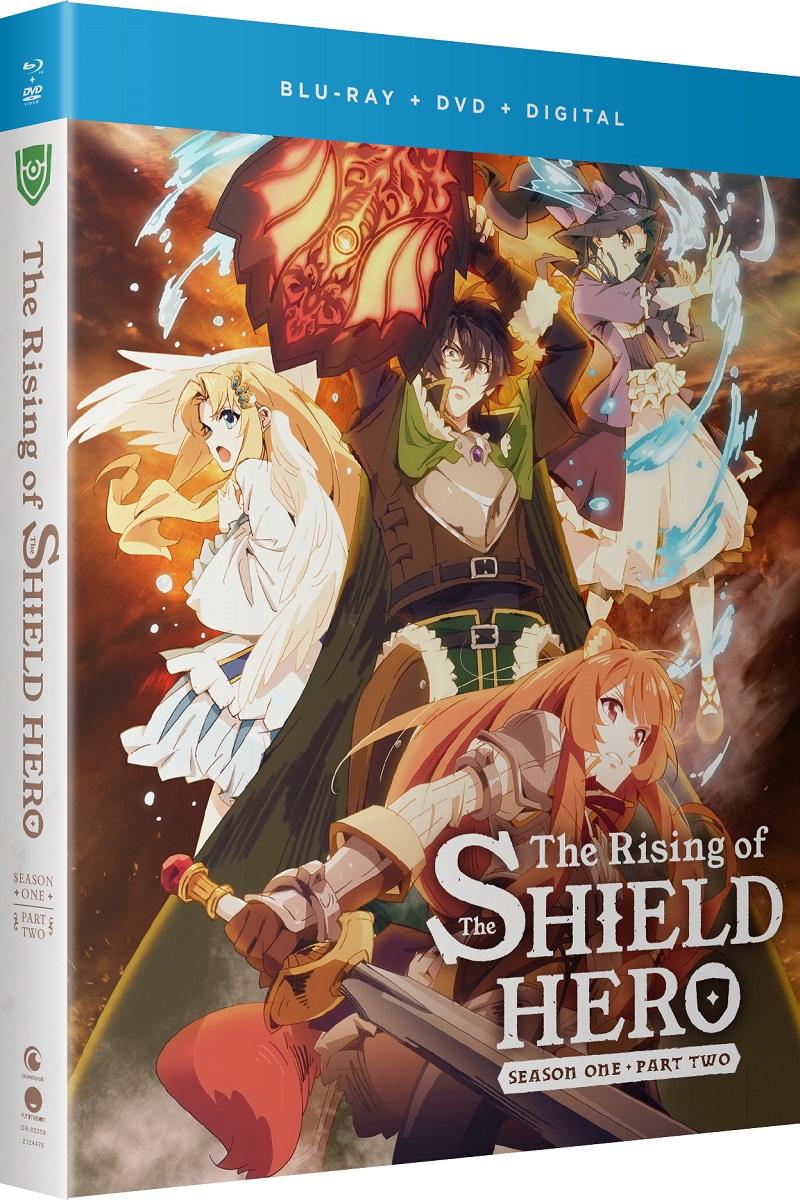 The Rising of the Shield Hero Season 1 Part 2 + Light Novel Limited Edition Blu-ray/DVD