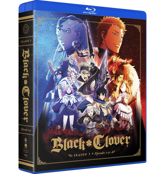 Black Clover Season 1 Complete Collection Blu-ray