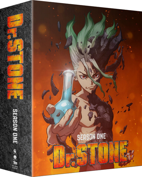 Dr. STONE Season 1 Part 2 Limited Edition Blu-ray/DVD