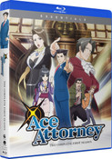 Ace Attorney Season 1 Essentials Blu-ray
