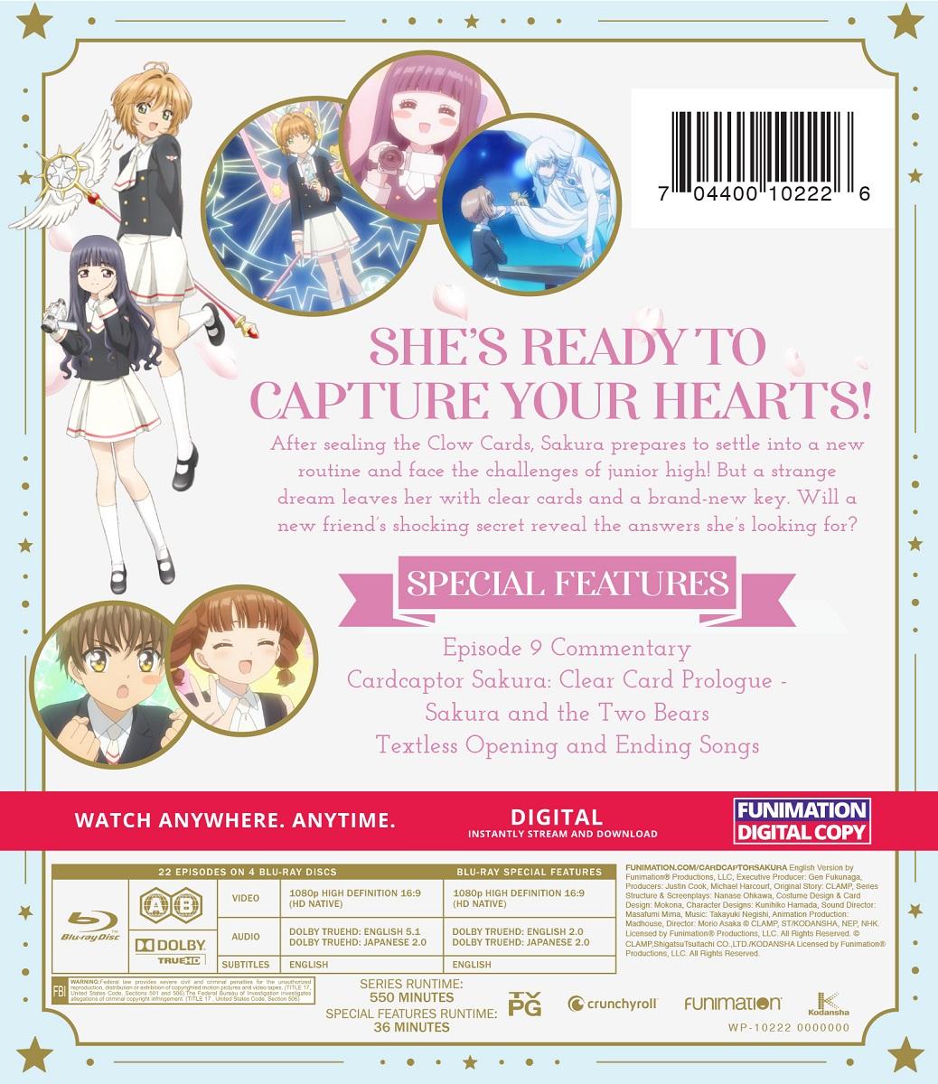 Cardcaptor Sakura Clear Card Complete Series Blu-ray
