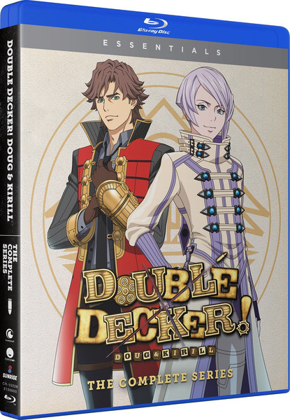Double Decker! Doug & Kirill + OVAs Essentials Blu-ray