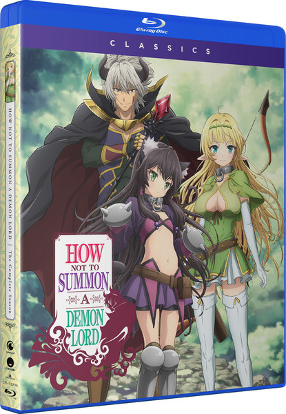 How NOT to Summon a Demon Lord Classics Blu-ray