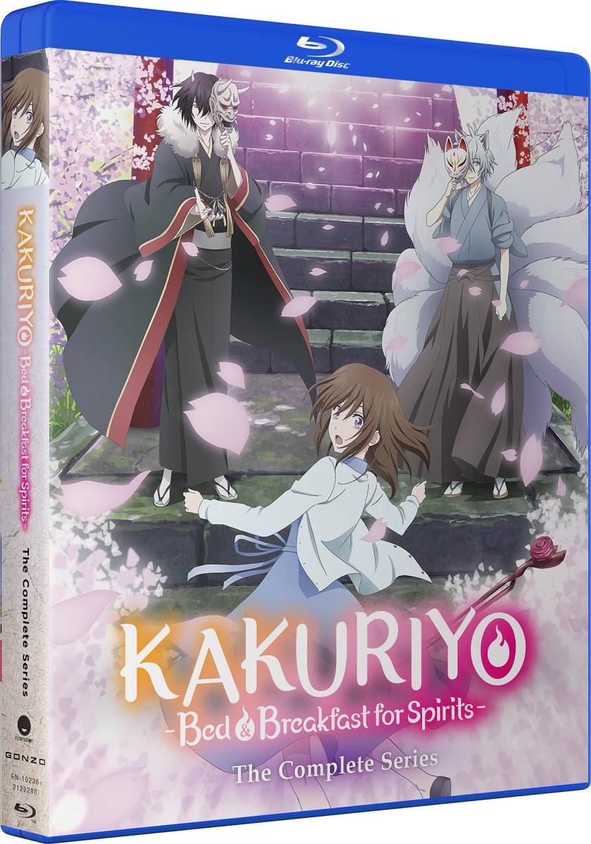 Kakuriyo Bed & Breakfast for Spirits Complete Series Blu-ray