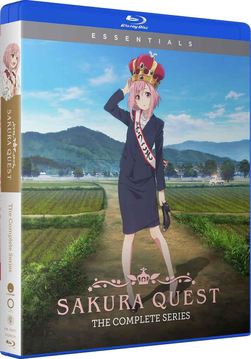 Sakura Quest Complete Series Essentials Blu-ray