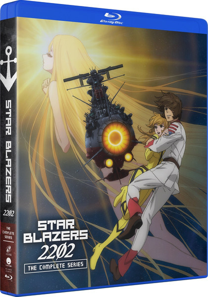 Star Blazers Space Battleship Yamato 2202 Complete Series Blu-ray