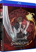 The Testament of Sister New Devil Seasons 1 & 2 Classics Blu-Ray
