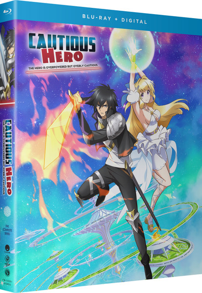 Cautious Hero The Hero is Overpowered but Overly Cautious Blu-ray