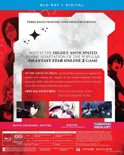 Phantasy Star Online 2 Episode Oracle Part 1 Blu-ray