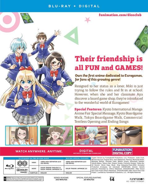 After School Dice Club Blu-ray