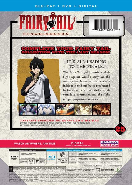 Fairy Tail Final Season Part 25 Blu-ray/DVD