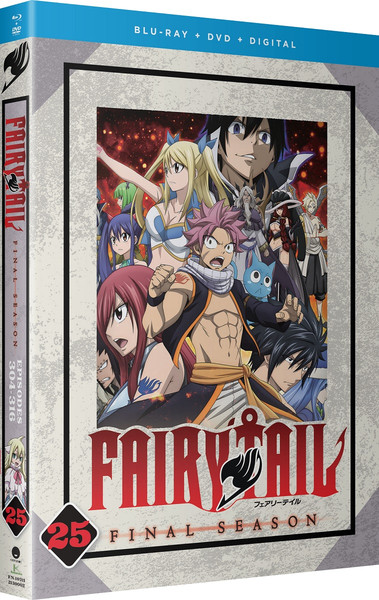 Fairy Tail Final Season Part 25 Blu-ray/DVD