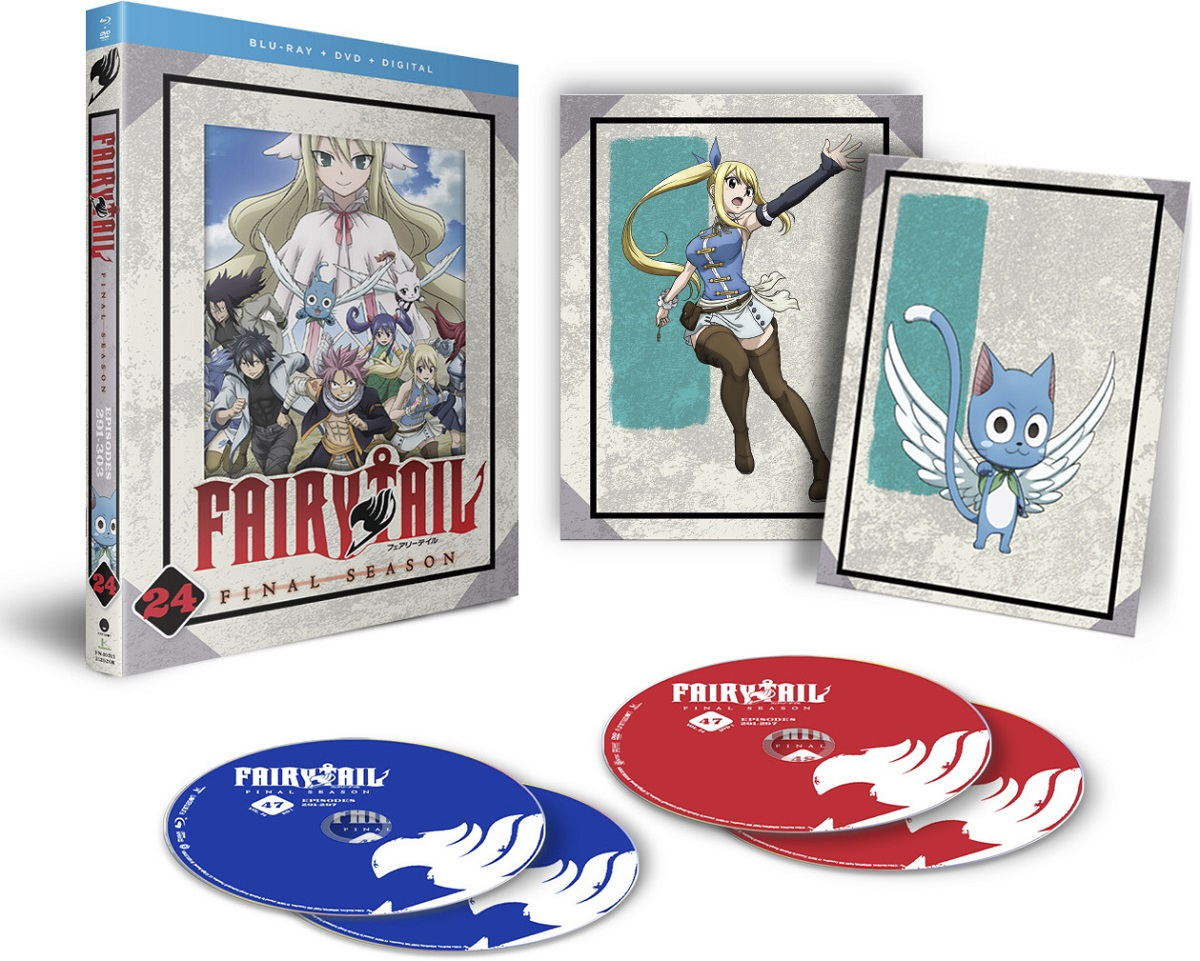 Fairy Tail Final Season Part 24 Blu-ray/DVD