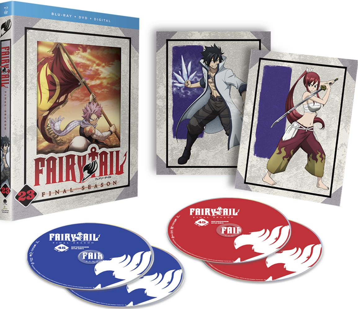 Fairy Tail Final Season Part 23 Blu-ray/DVD