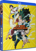 My Hero Academia Season 3 Complete Collection Blu-ray