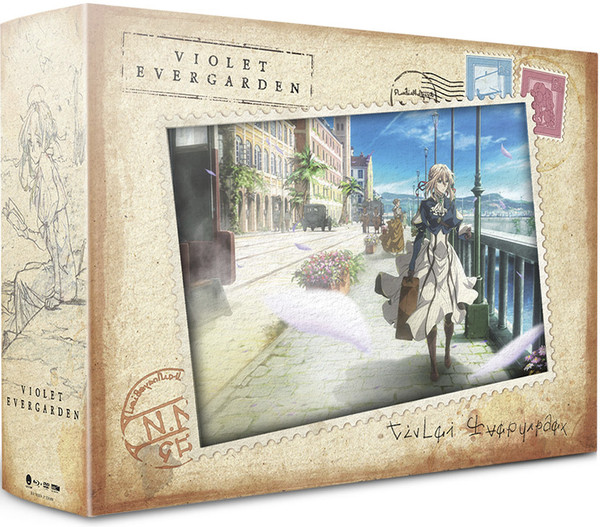 Violet Evergarden Limited Edition Blu-ray/DVD