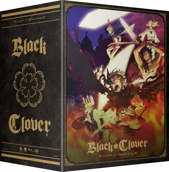 Black Clover Season 3 Part 3 Collector's Box Blu-ray/DVD
