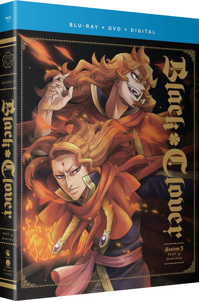 Black Clover Season 3 Part 4 Blu-ray/DVD