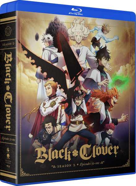 Black Clover Season 2 Complete Collection Blu-ray