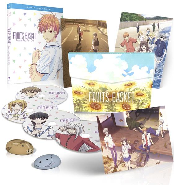 Fruits Basket Season 2 Part 1 Limited Edition Blu-ray/DVD