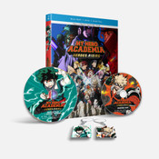 My Hero Academia Heroes Rising Blu-ray/DVD + GWP