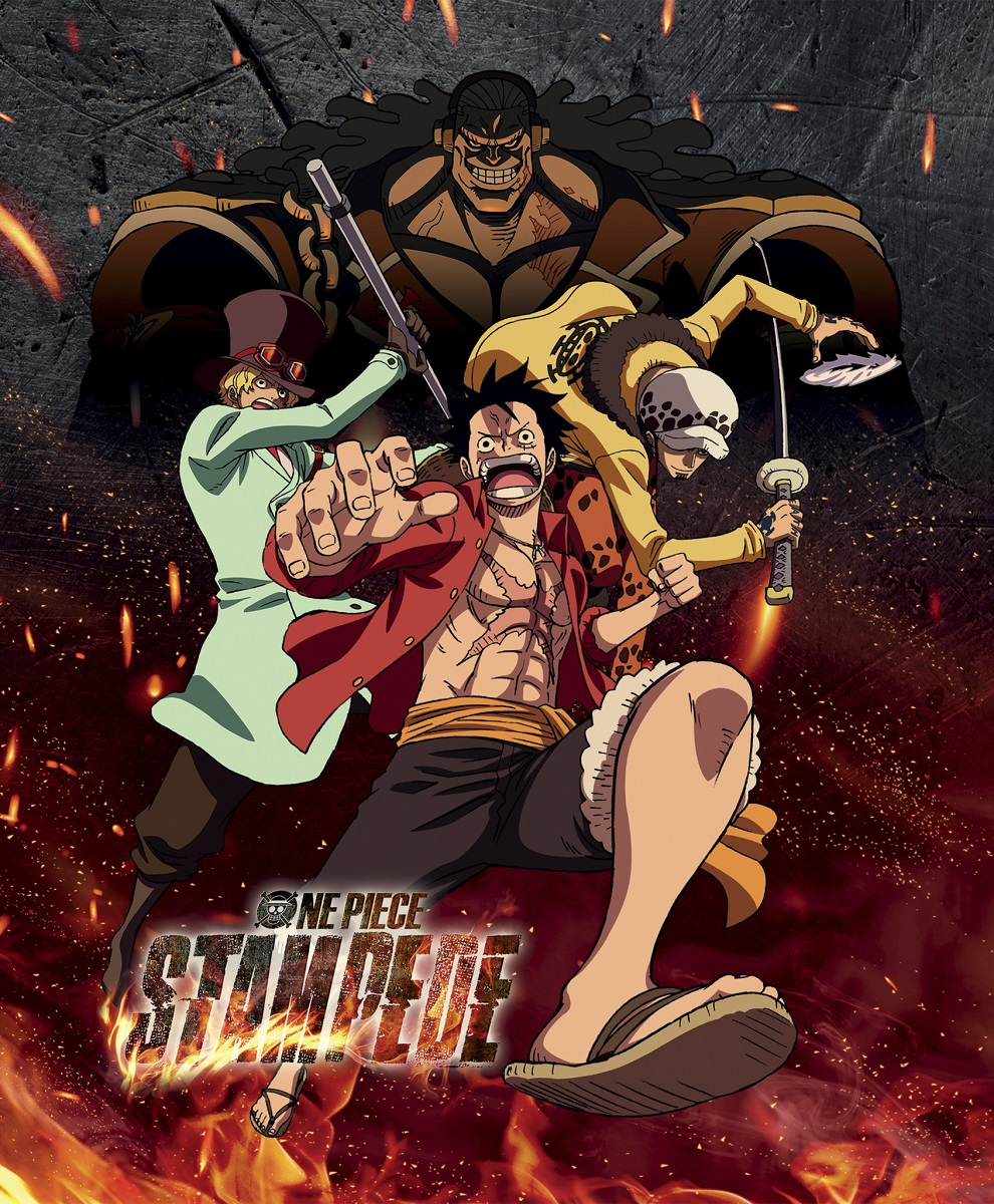 One Piece Film Stampede Steelbook Blu-ray/DVD