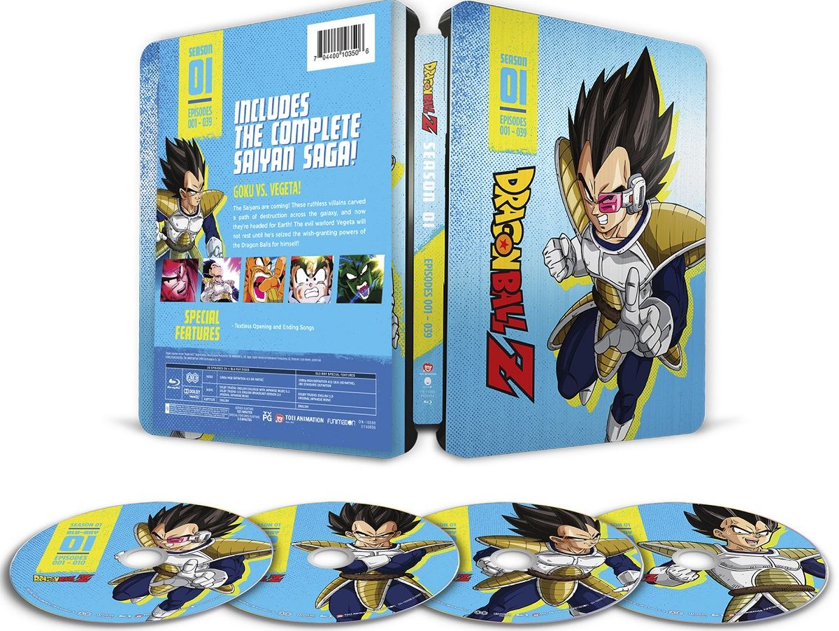 Dragon Ball Z Season 1 Steelbook Blu-ray