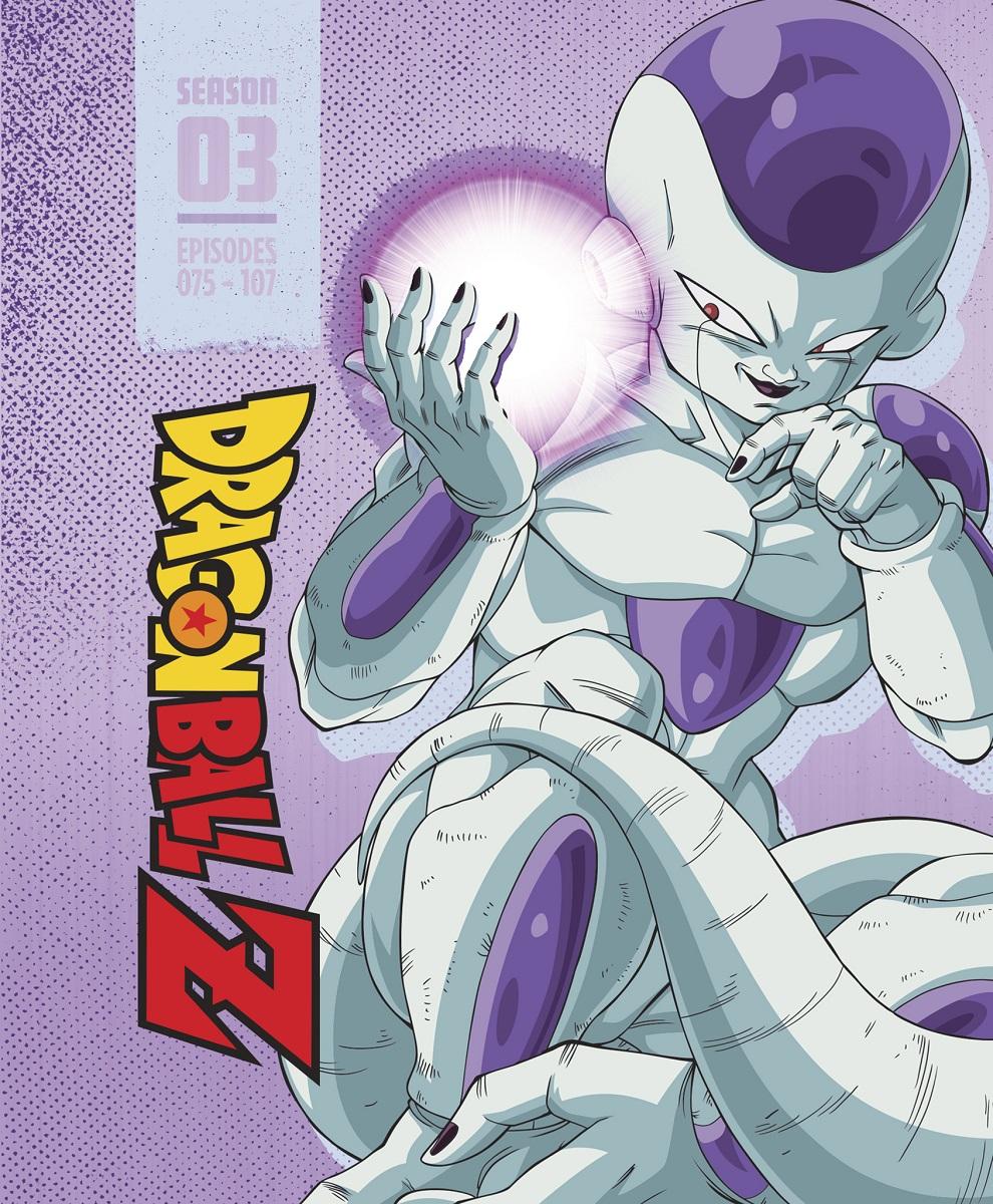 Dragon Ball Z Season 3 Steelbook Blu-ray