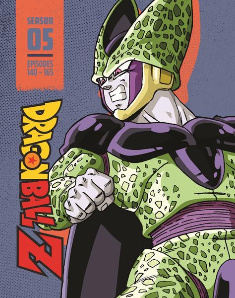 Dragon Ball Z Season 5 Steelbook Blu-ray